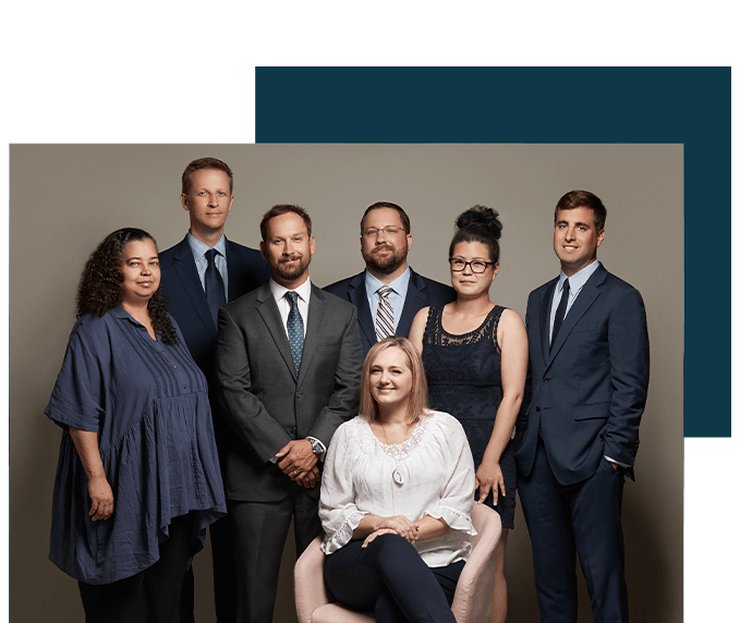 The team at The Law Office of Mark G. Scheuerman, LLC